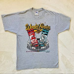 Single stitch vintage World Series T